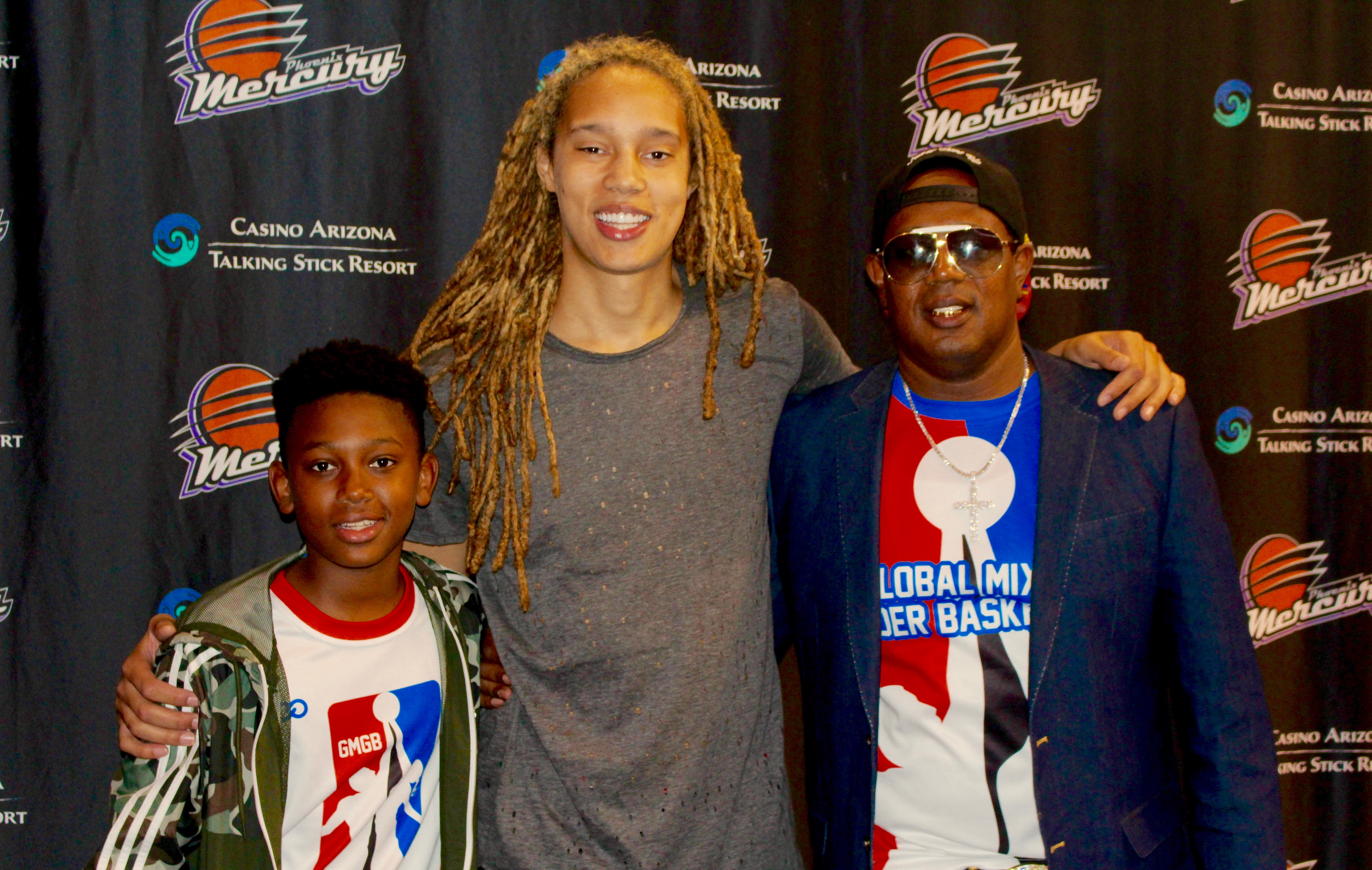 3cbc3f7dd MASTER P GMGB SUPPORTS THE WNBA AND BRITTNEY GRINER
