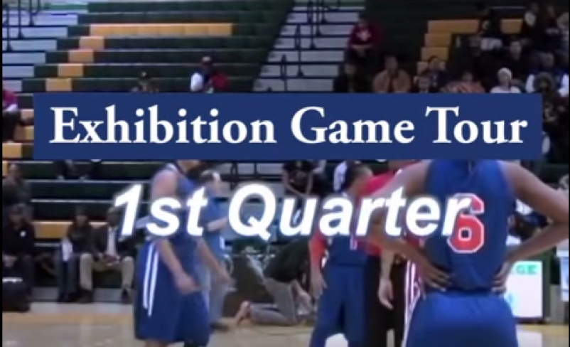 Mixed Gender Basketball Exhibition Tour: 1st Quarter