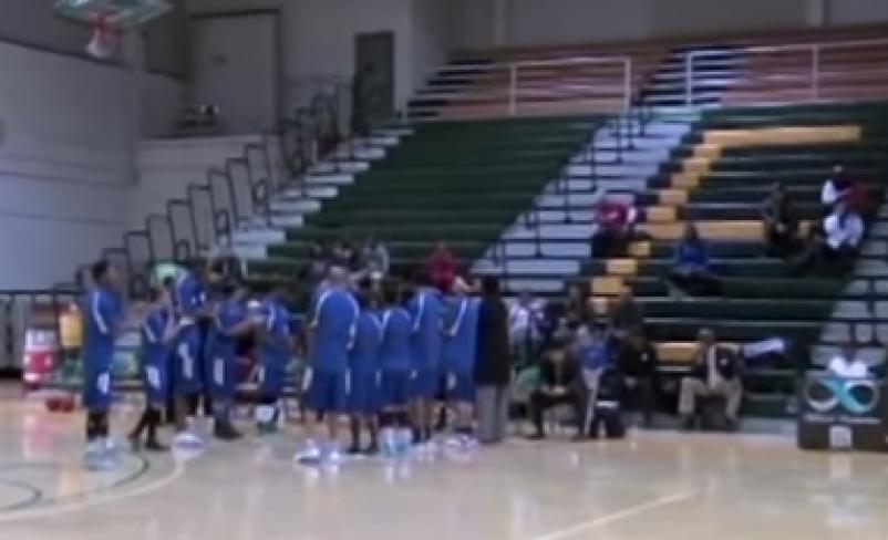 Mixed Gender Basketball Pregame